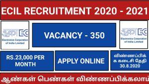 ECIL RECRUITMENT 2020-2021