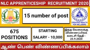 NLC Apprenticeship training 2020