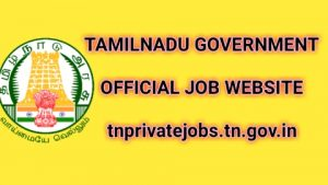 TN Private jobs tamilnadu government official website 2020