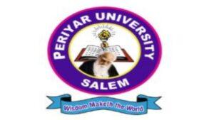Periyar university Recruitment 2021