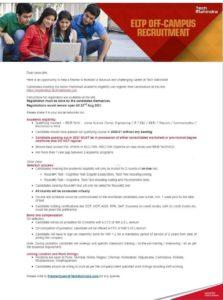 Tech Mahindra Off Campus Recruitment 2021